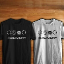 this supernatural sign will protect you sam mens t-shirt tee S M L XL 2XL women