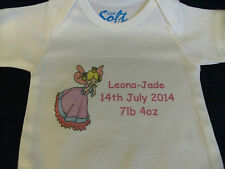Personalised Baby Grow Lots Of Designs or your own Photo & Text
