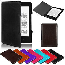 Ultra Slim Leather Case Cover For Amazon Kindle 4 4th w/ Screen Protector