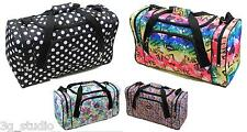 Ladies Holdall Maternity Weekend Overnight Hand Luggage Travel Baby Changing Bag