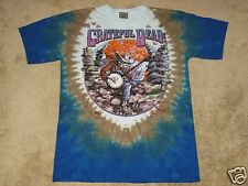 Grateful Dead Banjo M, L, XL, 2XL Tie Dye T-Shirt