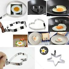 Kitchen Stainless Steel 5 Shaped SKMY Pancake Mold Cook Fried Egg Shaper