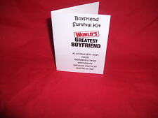 BIRTHDAY NOVELTY SURVIVAL KIT (Husband/Wife/Partner/Girlfriend/Boyfriend )