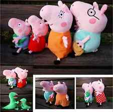 Sell ​​new Peppa Pig single family cute cute plush toy doll, neutral toys
