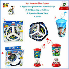 DISNEY PLAYTEX TOY STORY MEAL TIME FEEDING KIDS BABY CUP, PLATE, BOWL,TUMBLER