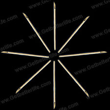 HOT 5 Pcs U-Pick  Body Piercing Needles Assorted Size Sterile Different Gauge