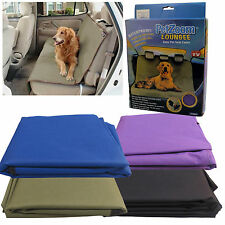 Universal Waterproof Car Seat Protective Rear Back Cover Pet Dog Boot Mat Liner