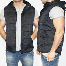 Mens St. Goliath GLOUCHESTER Sleeveless VEST Padded Fashion Street Hoody Jacket