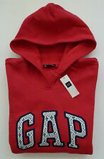 Womens GAP LOGO RED HOODIE SWEATSHIRT Sizes XS, S, M, L, XL, 2XL - NWT