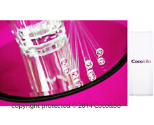 """Coco&Bo Cocktail Party 6"""" Clear Drink Stirrers Christmas Decorations"""