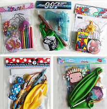 Budget filled Party Bags Gift Sets, Many  Characters: Peppa Pig, Disney, Marvel