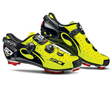 New Sidi Drako MTB Cycling Shoes, EU38-47, Yellow Fluorescent