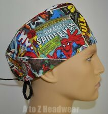 RETRO Marvel Comics Group Surgical Scrub Cap Hat