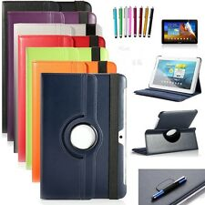 PU Leather 360 Rotating Case Cover for Samsung Galaxy Tab 2 10.1 P5100/5110/5113