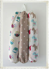 Carrier Bag Holder  - Dotty Taupe, Scottie Dog or Owl