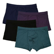 NWT High quality Mens Solid Color Underwear Bamboo Soft Boxers SZ US M/L #8508