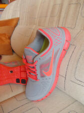 HOT SALE! Peach Gray Punch Coral Nike Free Run 5.0 womens running shoes