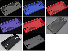 Multi Color S-Types TPU Silicone CASE Cover For Sony Xperia V LT25i