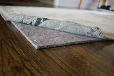 "Eco Comfort Felt Rug Pad - RECTANGLE SIZES - 1/4"" Thick SAFE for floors"