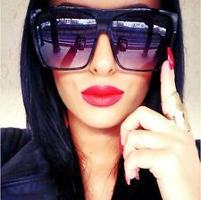POLARIZED DESIGNER SUNGLASSES d frame square oversized hot celebrity fashion