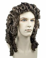 Discount 1730s Alonge Captain Hook Royal British 18th Century Lacey Costume Wig
