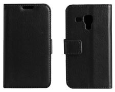 For Samsung Galaxy Trend Plus GT-S7580 S7582 Wallet Leather Case Card Slots #n