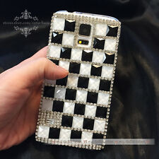Hot Luxury Crystal Bling Rhinestone Case Cover for Samsung Galaxy S5 Note3 Phone