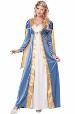 Brand New Elegant Empress Royal Medieval Queen Adult Costume