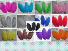 Pretty 5/10pcs ostrich feathers 6-8 inches 15-20cm multicolored ornate selection