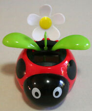 Flip Flap Solar Powered Toy in Ladybug Character Flower Pot.