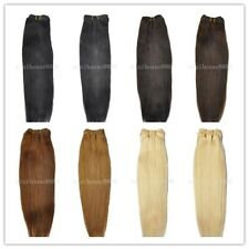 USA STOCK!10 inch short Remy Human Hair Weft Extensions 100g 3-5 days delivery!