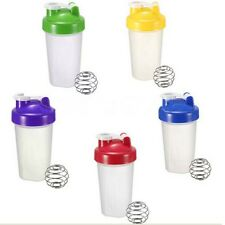 Smart Shake Gym Protein Shaker Mixer Cup Blender Bottle Wit Stainless Whisk Ball