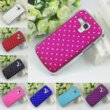 Luxury Bling Diamond Case Chrome Cover Back For Samsung Galaxy S Duos Trend Plus