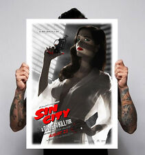 Sin City 2014 A Dame to Kill For Crime Thriller Film Movie Size A2 A1 Poster New
