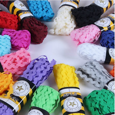Best Quality Ric Rac Lace 5mm Sewing Trim Braid Doll Free Ship
