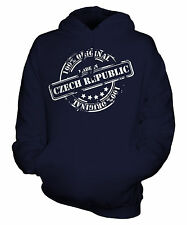 MADE IN CZECH REPUBLIC UNISEX ADULT HOODIE MENS WOMENS LADIES FUNNY BRAND NEW