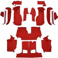 Carpet For 1992-1993 Chevy Corvette Convertible, Complete kit With 1 Door Latch
