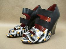 NEW Missoni Raschel Pois Womens Peep toe Wedge Pumps,6.5,8.5,9,  DJB