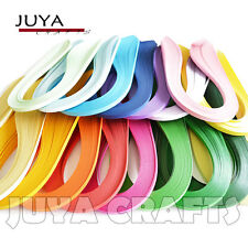 JUYA 17 Colors Paper Quilling 1700 Strips Total 420mm Length 3/5/7/10mm Width