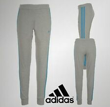 Womens Ladies Branded Adidas 3 Stripe Cotton Tights Size 8  10 12 14 16 18