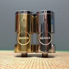 NEW Kraken Atomizer Clone Brass Stainless Steel Rebuildable Genesis Style!