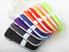 TOUGH GEL TPU Soft Case STAND Bumper Skin For Samsung Galaxy S Duos Trend Plus