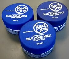 Red One Maximum Control Blue Aqua Wax - Indestructible Style - Packs of 1, 2 & 3