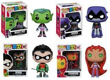 Teen Titans Go Pop! Funko Vinyl Figures Sold Separately 3 3/4""