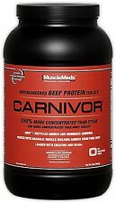 Carnivor, MuscleMeds, Beef Protein powder, 2 Lbs, All Flavors