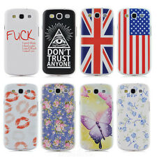 Popular pattern hard phone cover case For Samsung Galaxy S III S3 i9300 PT1403