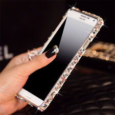 Bling Rhinestone Diamond Luxury Metal Case Bumper Frame For Samsung Galaxy Note3