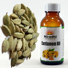 CARDAMOM OIL 100% Natural Pure UnDiluted UnCut ESSENTIAL OIL 5ML TO 100ML