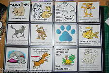 Thank you for Dog sitting. Cat, Mouse, Rabbit. Tortoise, Pet care/Holiday GIFT