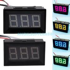 A#S0 New LED Current Meter 0.56 Inches Mini Digital Ammeter Amp Panel